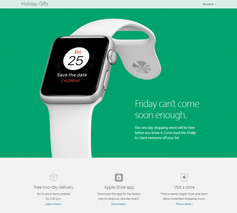 Black Friday Apple Watch