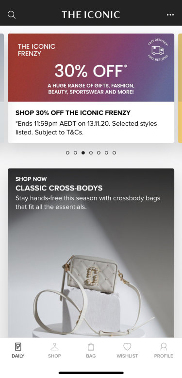 The Iconic Click Frenzy